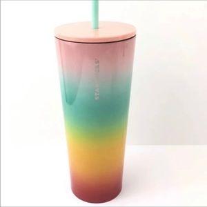 Starbucks rainbow 2019 tumbler . New, unused